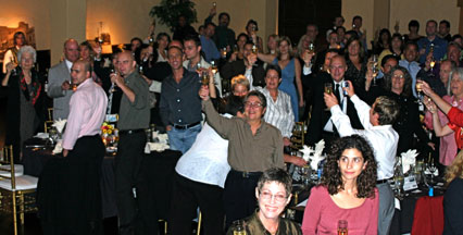 Hillcrest Centennial Gala Toast, October 4, 2007 at the Prado in Balboa Park, San Diego